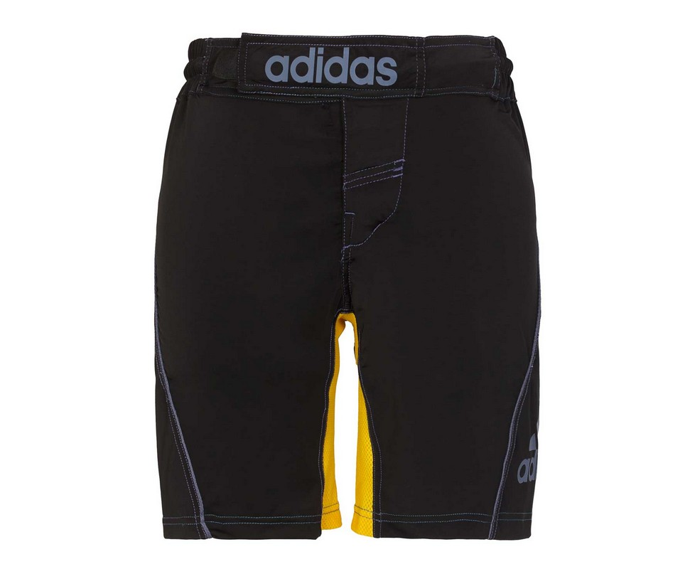 Шорты для единоборств Adidas Training Short MMA черно-желтые adiMMAS01 шорты adidas шорты b court short conavy white