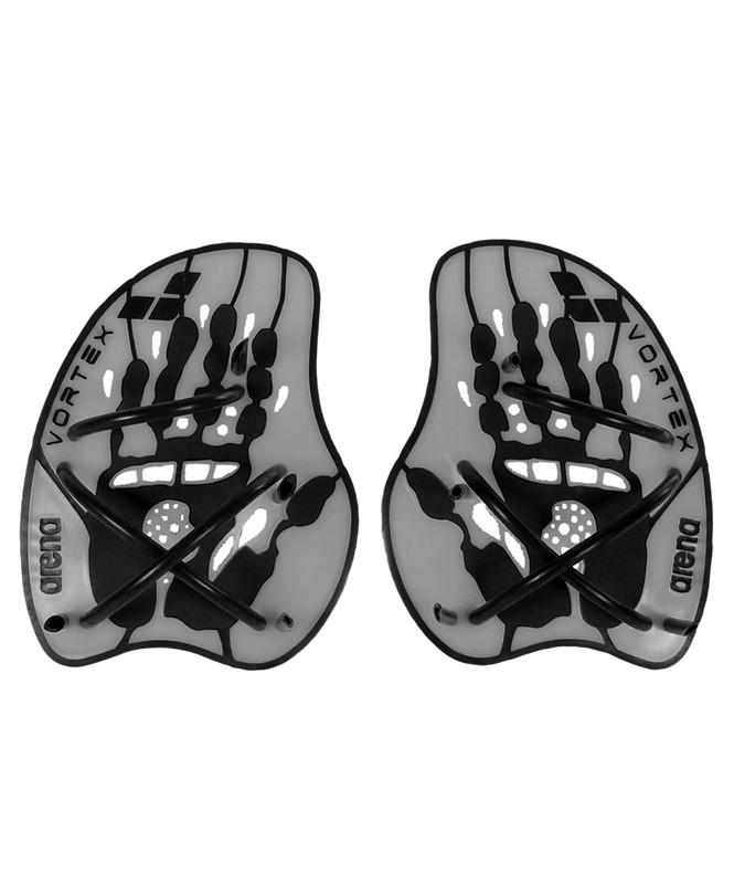 Лопатки Arena Vortex evolution hand paddle, Silver/Black 95232 15, L