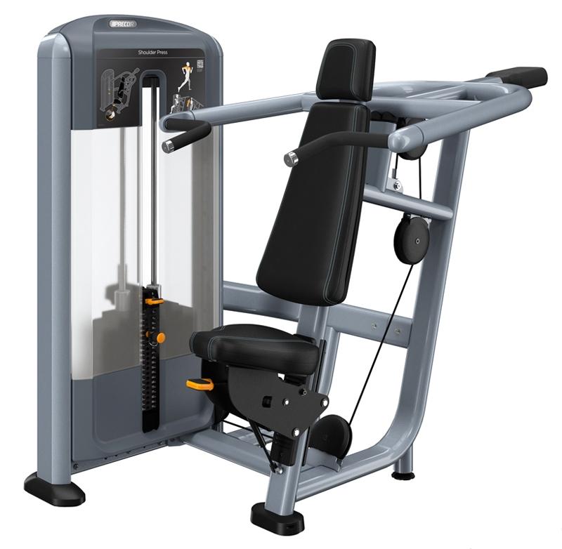 Жим от плеч Precor DSL500 жим от плеч верхняя тяга spirit fitness dws103 u2