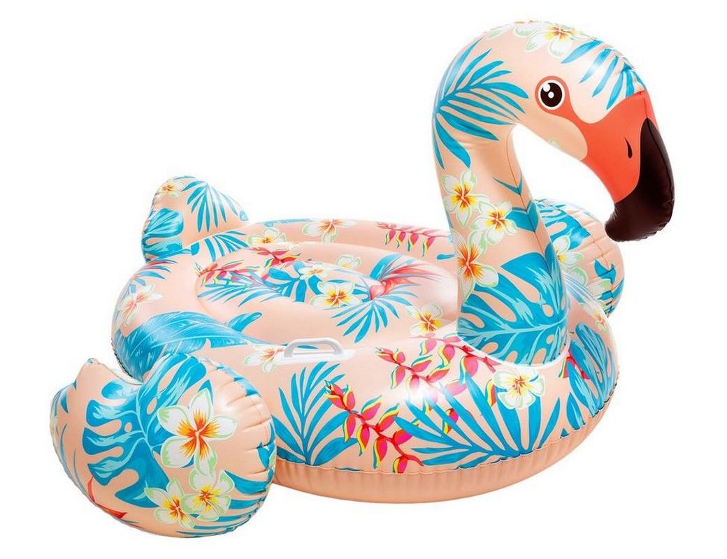 Купить Плотик Тропический фламинго Intex 142х137х97 см 57559,