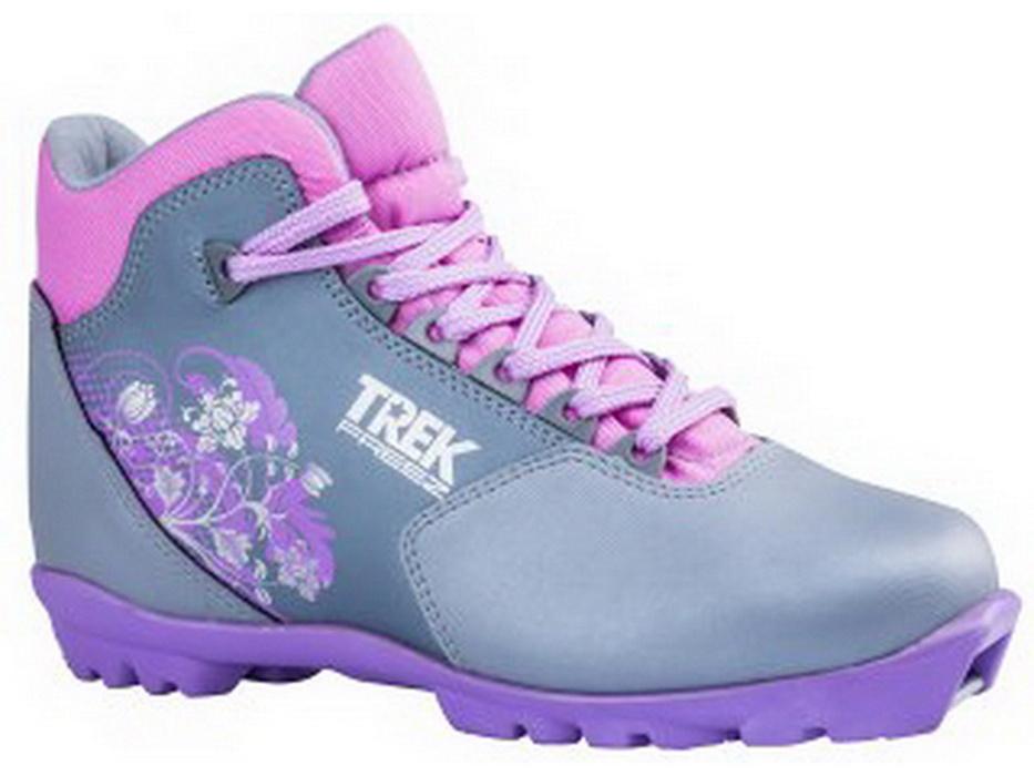 Ботинки для беговых лыж Trek Freez1 металлик N