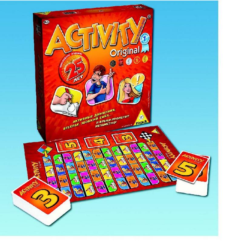 Купить Настольная игра Activity 2 Юбилейное издание Piatnik 794094, NoBrand, Настольные игры