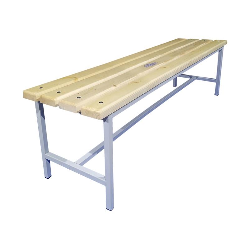 Купить Скамейка для раздевалки 1500 мм сиденье из дерева Dinamika ZSO-002203,
