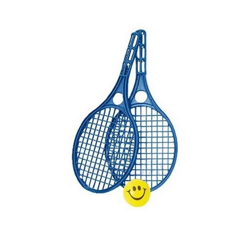 Набор для бадминтона пляжный (2 ракетки+ мячик), У712 набор для бадминтона пляжный 2 ракетки пластмасовые волан