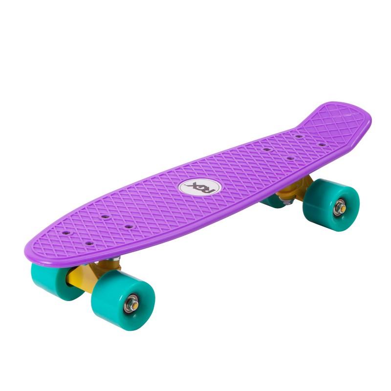 Мини-круизер RGX PNB-01 Violet скейт мини круизер turbo fb stawberry grass red green white 22 55 9 см
