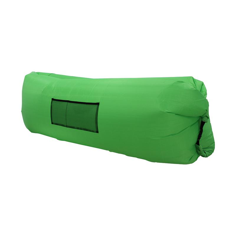Надувной лежак Lamzac зеленый