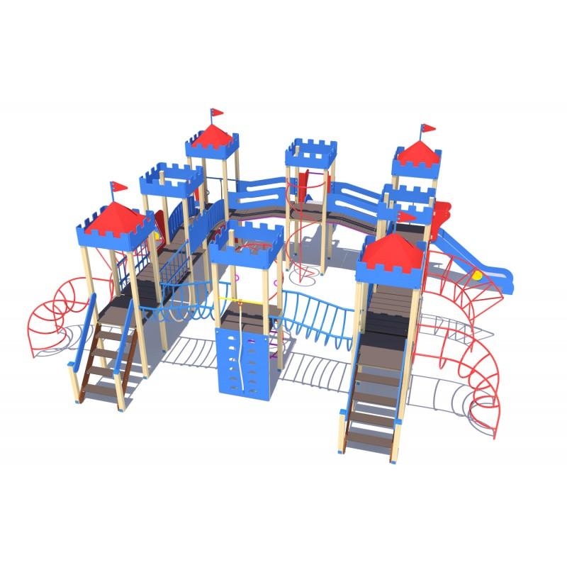 Купить Детскийигровойкомплекс МАФ СитистремягоркамиДИО13072,