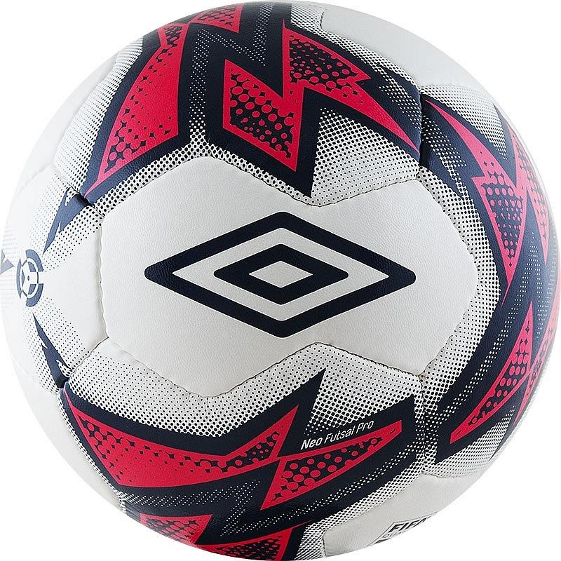 Мяч футзальный Umbro Neo Futsal Pro 20864U (FNF) бел/т.син/роз. мяч футзальный select futsal talento 11 852616 049 р 3