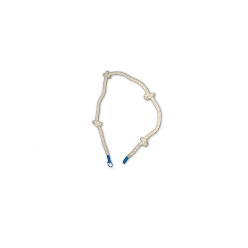 Купить Канат с узлами для лазания D=30 мм L=2,3 м Ellada М897,