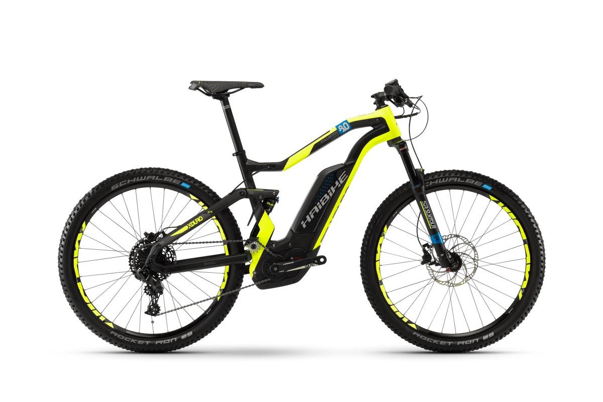 Электровелосипед HaiBike Xduro FullSeven Carbon 8.0 500Wh 11s NX (2018)
