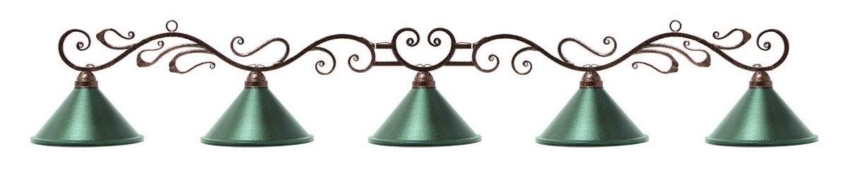 Лампа на пять плафонов Антик 75.900.05.0