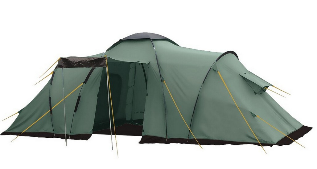 Палатка BTrace Ruswell 4 T0263 зеленый