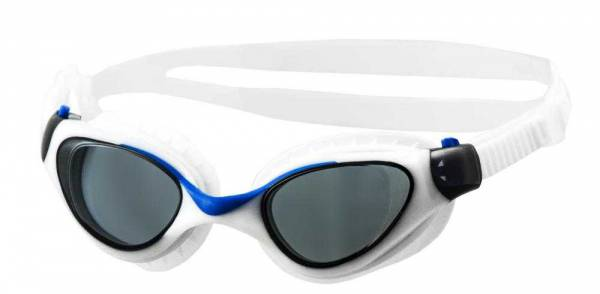 Очки для плавания Atemi M703 бел/гол фото