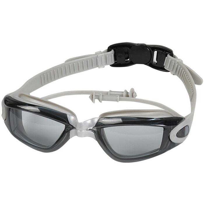 Купить Очки для плавания взрослые B31569 (серые), NoBrand