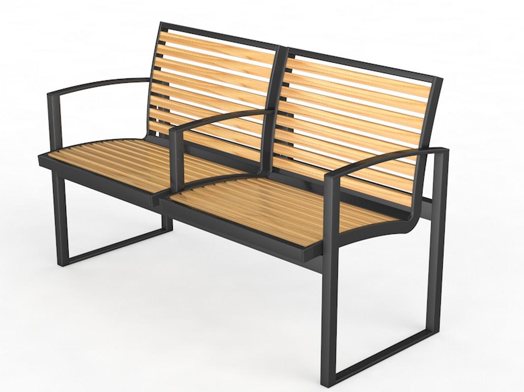 Купить Уличная скамейка со спинкой Glav Барин 14.6.5000,