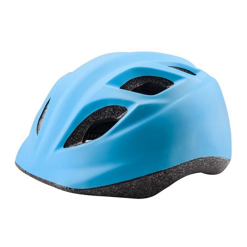 Купить Шлем защитный Stels HB-8 (out-mold) голубой 31178,