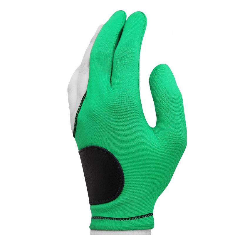 Перчатка Joe Porper's с кожаной вставкой светло-зелёная безразмерная фото