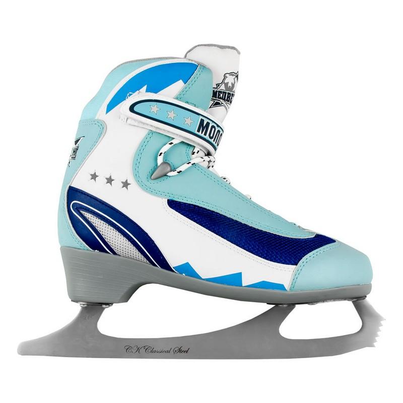 Фигурные коньки СК Молодежка MFS blue коньки onlitop 223f 37 40 blue 806164