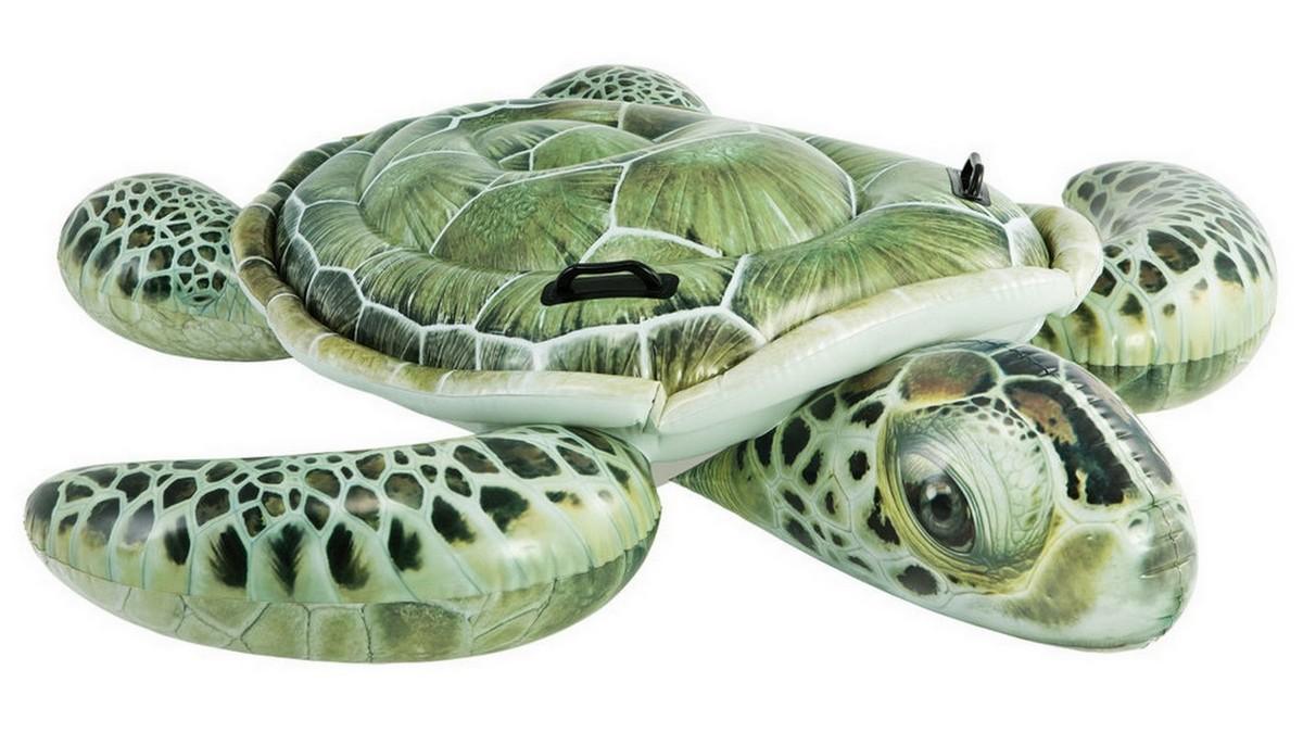 Купить Игрушка- наездник Intex Морская черепаха, 191x170 см 57555,