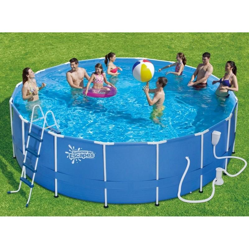 Купить Каркасный бассейн Polygroup SummerEscapes 488х132 см P20-1652-B,