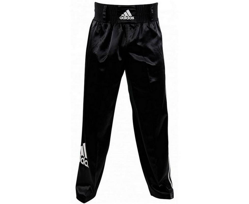 Брюки для кикбоксинга Adidas Kick Boxing Pants Full Contact adiPFC03 черные adidas adidas base plain pants