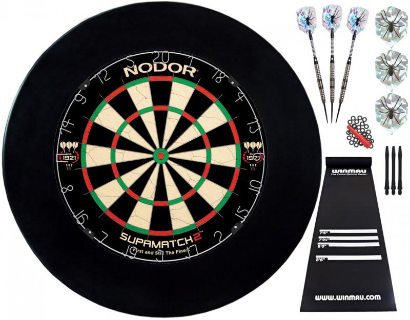 Комплект для игры в Дартс Nodor Professional plus дротики nodor nr 607 80