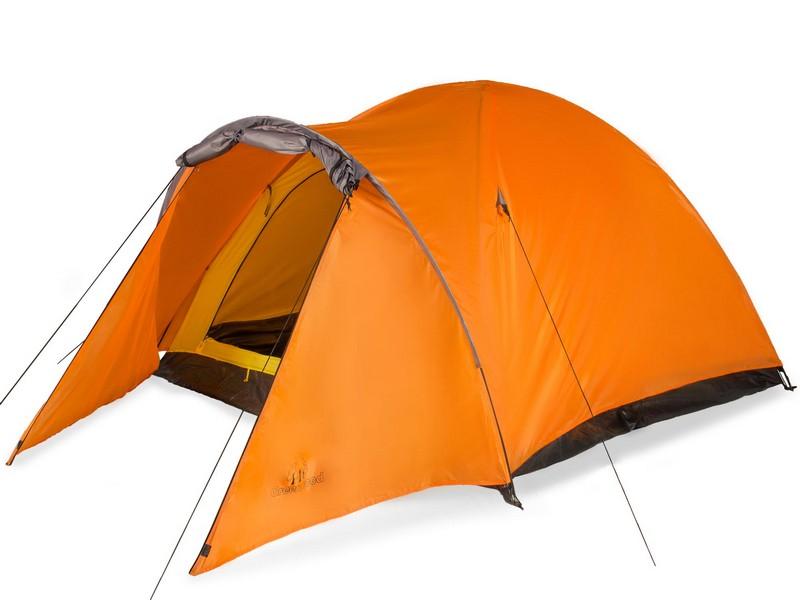 Палатка 3-м Greenwood Target 3 оренжево-серый