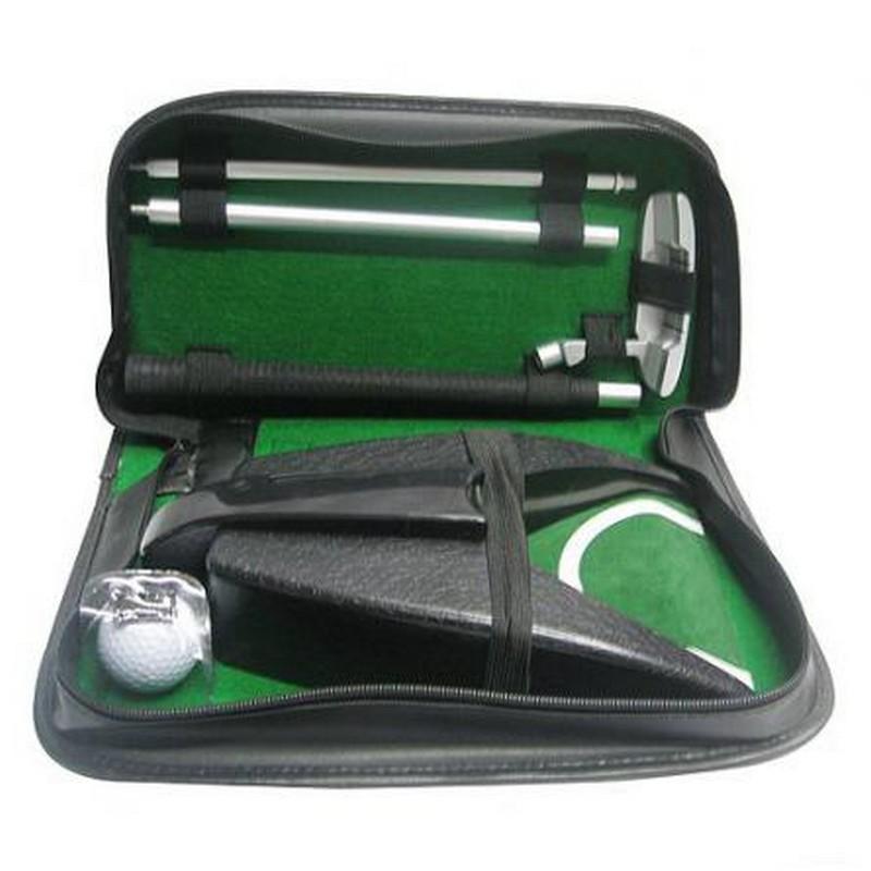 Купить Набор для гольфа Partida c автоматической лузой в кожаном кейсе, Игры на свежем воздухе