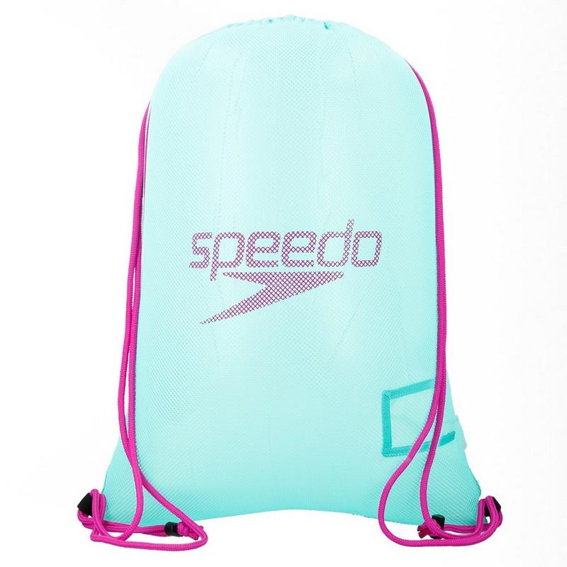 Сумка-мешок Speedo Equipment Mesh Bag 8-07407C302 зеленый\пурпурный