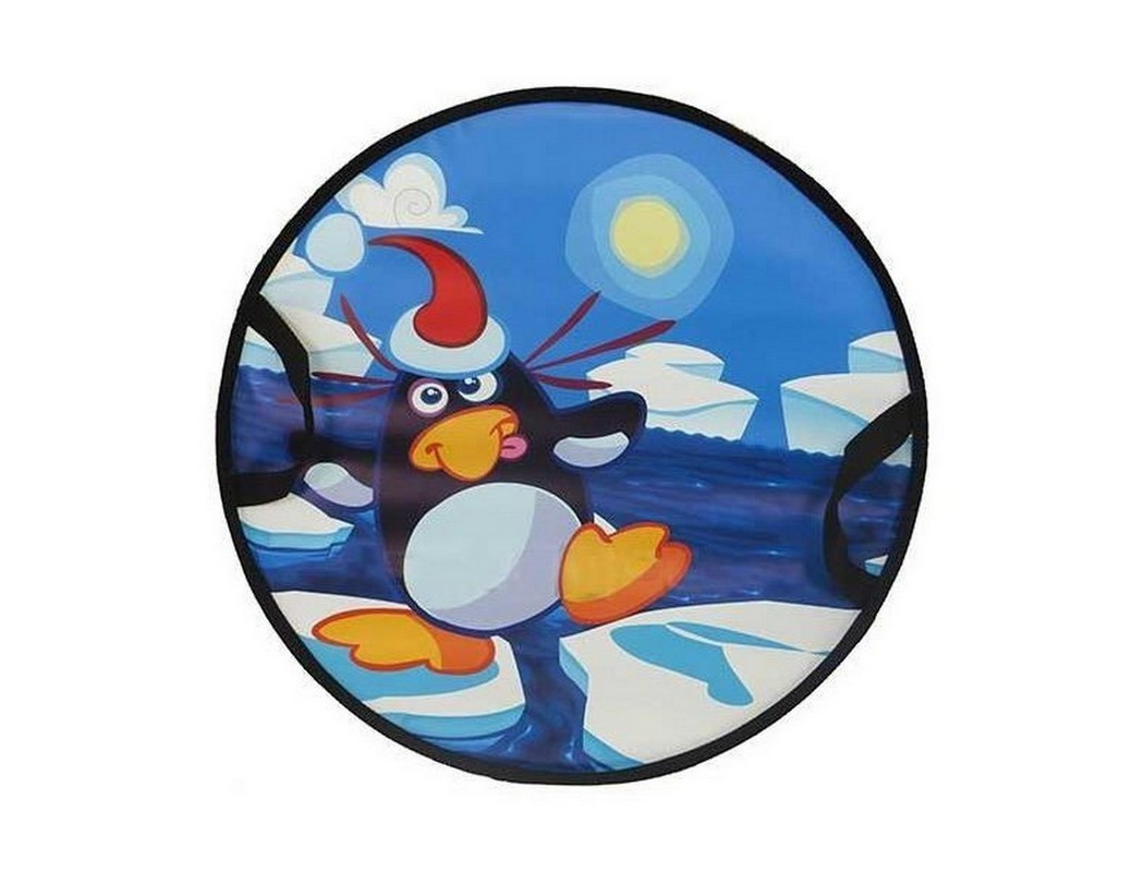 Санки-круг Пингвин на льдине СЛ-41