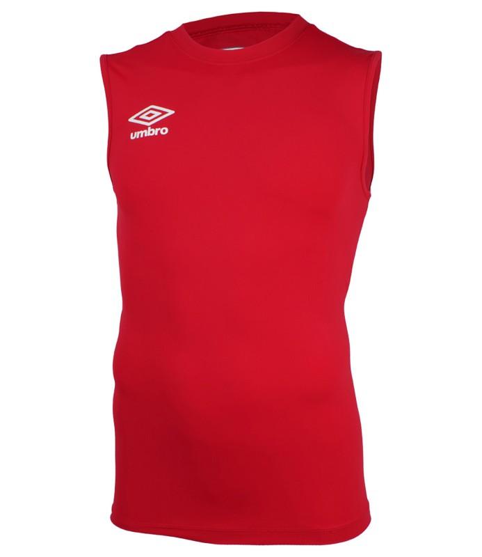 Майка тренировочная Umbro Fw Sleeveless Crew Baselayer мужская (7RA) красная