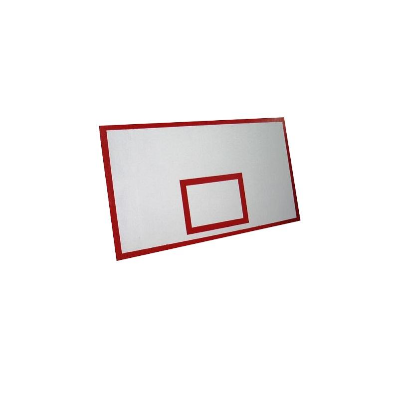 Купить Щит баскетбольный ПВХ пластик Palight 10 мм, игровой с основанием 180x105см Ellada М188,