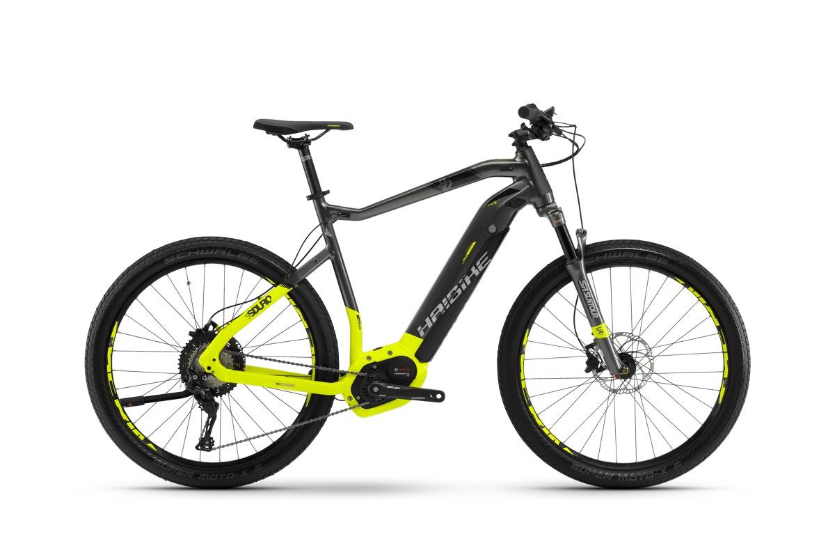 Электровелосипед HaiBike Sduro Cross 9.0 men 500Wh 11s XT (2018)