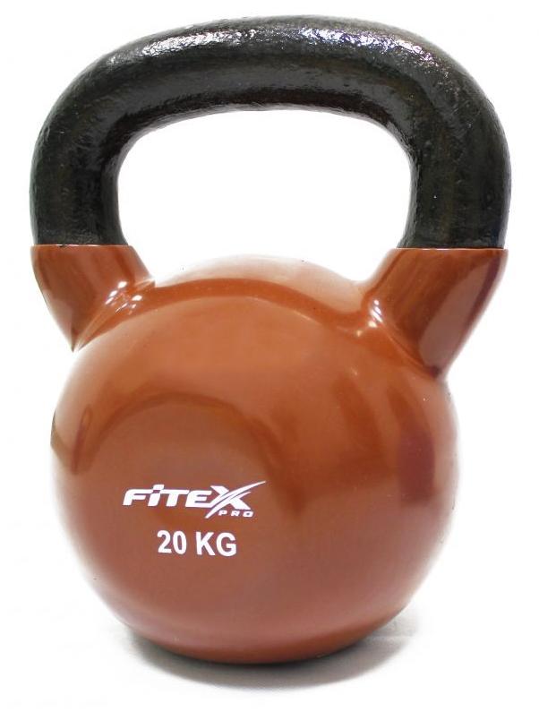 Купить Гиря в виниловой оболочке 20 кг Fitex Pro FTX2201-20,