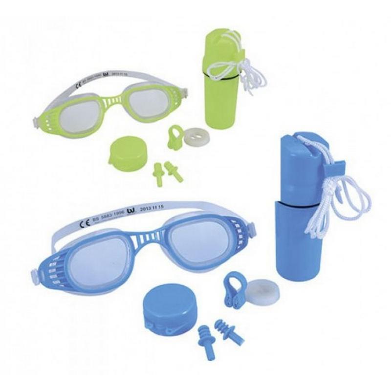 Набор Bestway 26002 для плавания (очки + зажим + беруши) зажим для носа комплект д плавания и беруши н024