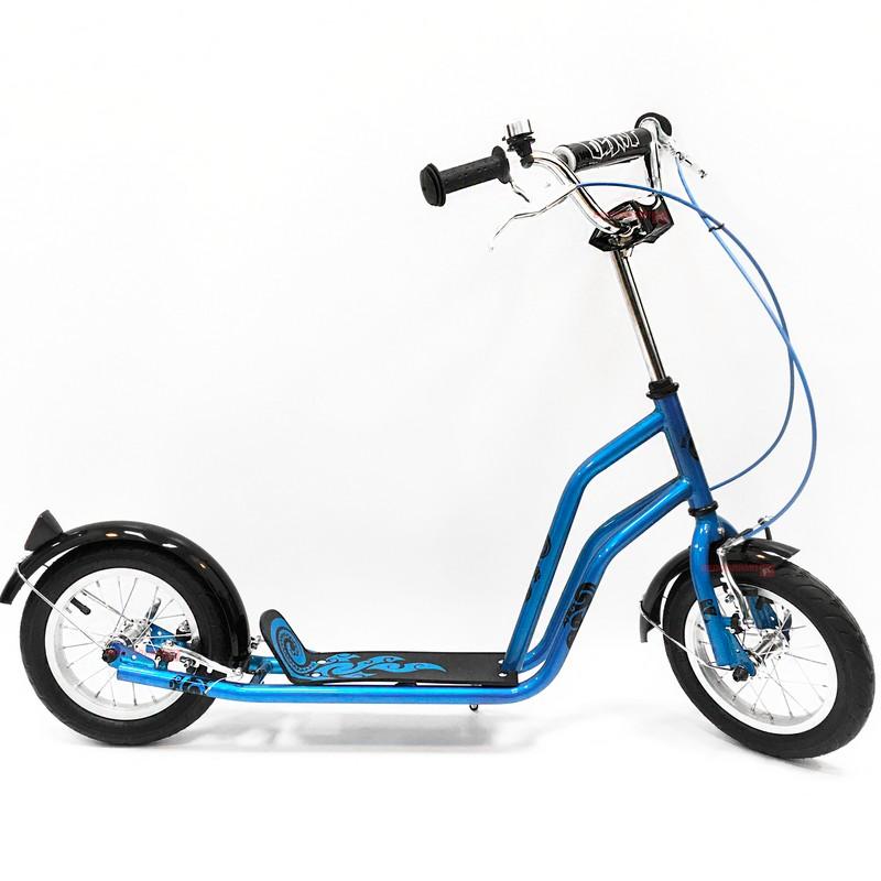 Самокат Olimp, SO20161 Blue тренировочные колеса 16 20