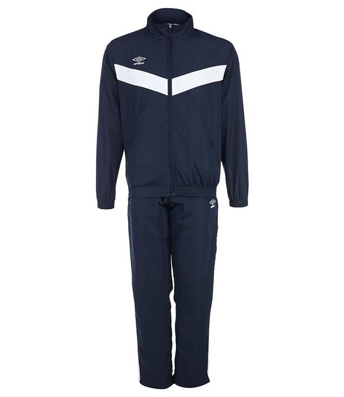 Костюм спортивный Umbro Unity Lined Suit брюки прямые 463115 (991) т.син/бел.