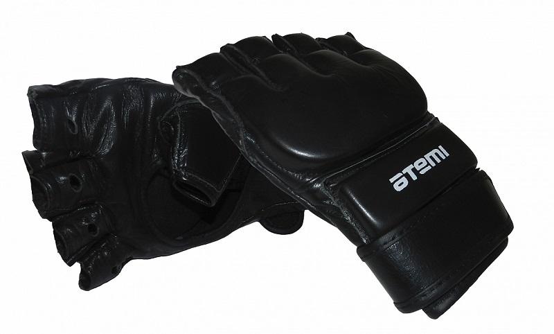Перчатки mix fight, кожа Atemi 05-001