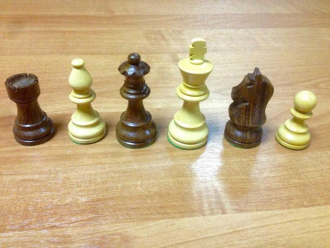 Купить Шахматные фигуры Стаунтон Люкс N5 ШФ 12, NoBrand