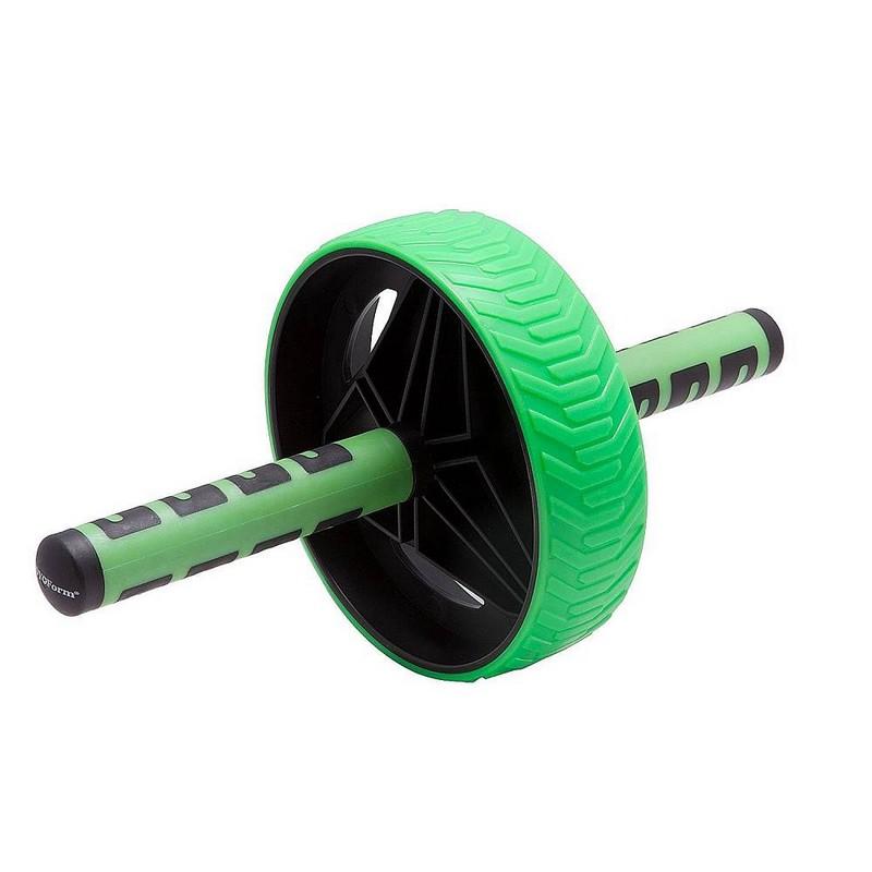 Купить Ролик гимнастический Body Form BF-WG04 черный-зеленый,