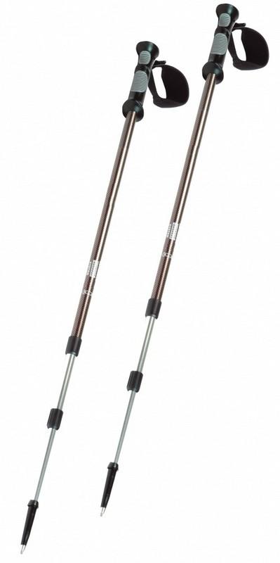 Палки для скандинавской ходьбы Hudora 75-145 см Teleskop-Trekkingstocke