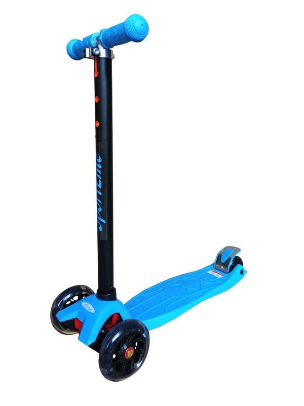 Самокат Sport Elite 4-х колесный SE230, голубой