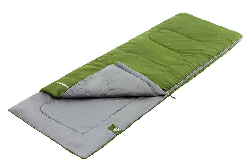 Спальный мешок Trek Planet Ranger Comfort JR зеленый 70302-L 185x70см