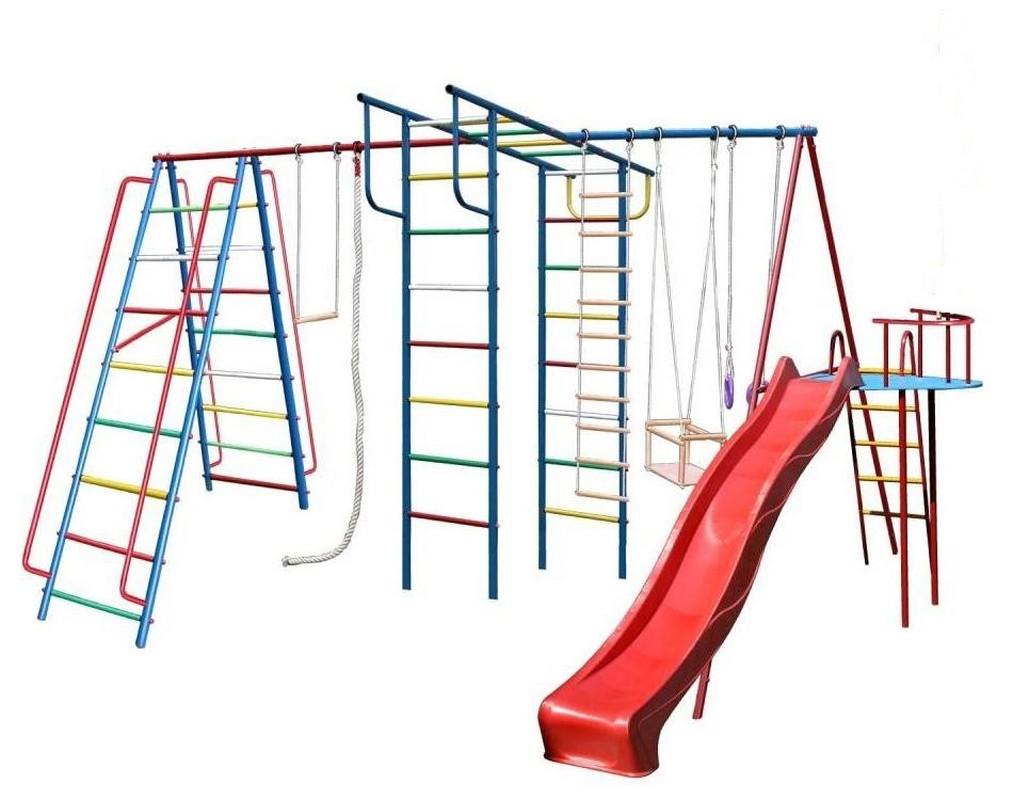 Купить Детский спортивный комплекс Вертикаль А1+П дачный Макси с горкой 3, 0 м + Дополнение Моряк, ДСК для улицы