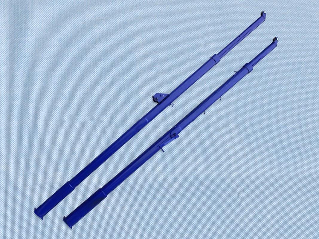 Купить Стойки волейбольные телескопические эконом пара Гимнаст 1.50,