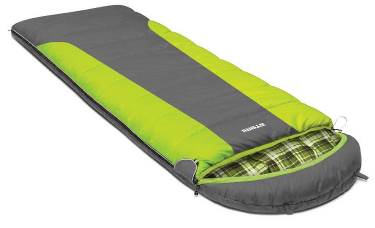 Спальный мешок туристический Atemi 400 г/м2, -10 С, right Quilt 400R