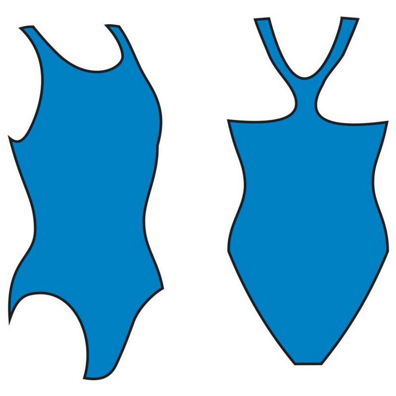 Купить Купальник Atemi женский для бассейна, борцовка BW 2 3, голубой,