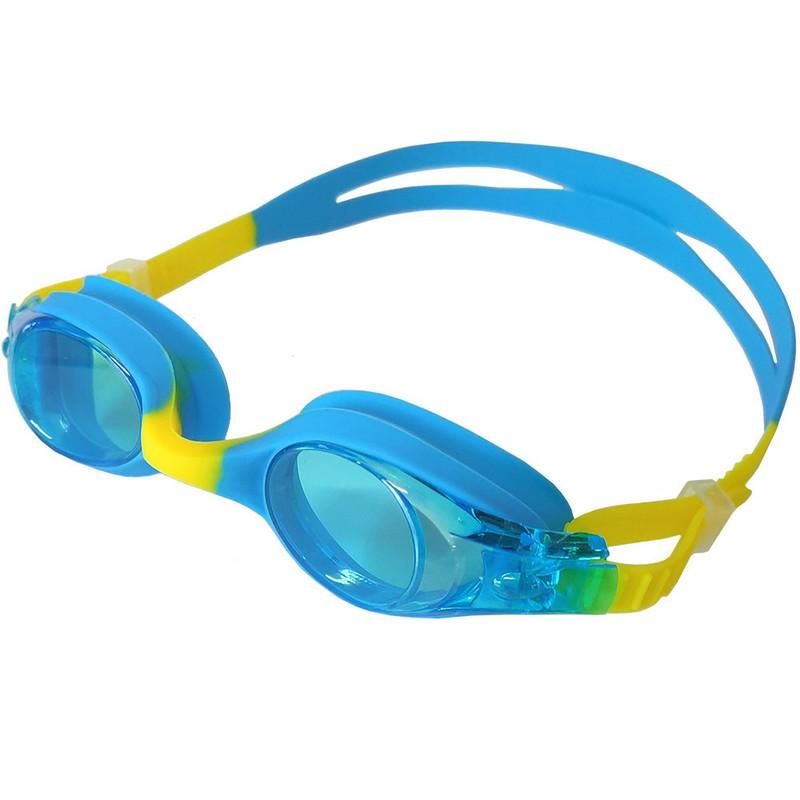 Купить Очки для плавания B31579-5 Голубой/Желтый, NoBrand