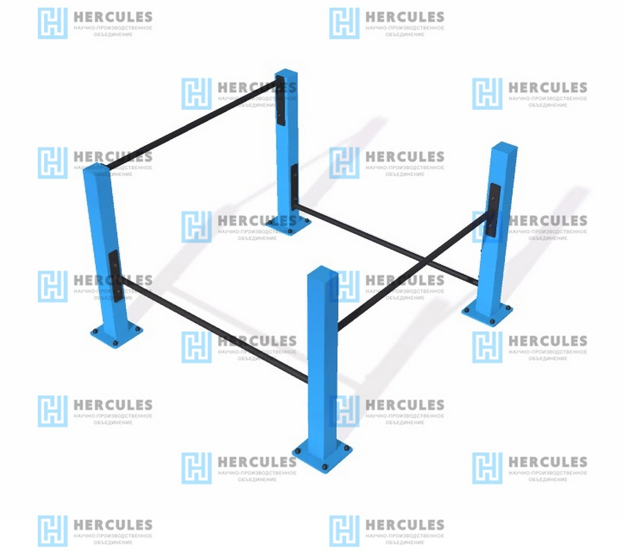 Упоры для отжиманий Hercules упоры для отжиманий пластиковые housefit 6205