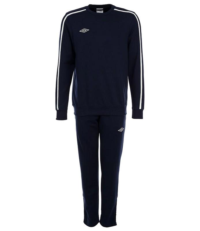 Костюм спортивный Umbro Staduim Training Poly Suit мужской 350413 (918) т.син/бел/сер.